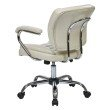 Work Smart Task Chair Faux Leather in Cream