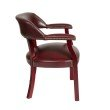 Work Smart Traditional Guest Chair with Wrap Around Back