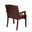Work Smart Traditional Visitors Chair with Padded Arms