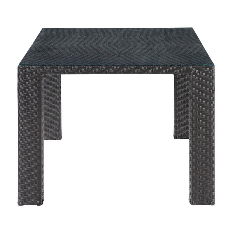 Zuo Boracay Outdoor Dining Table in Espresso