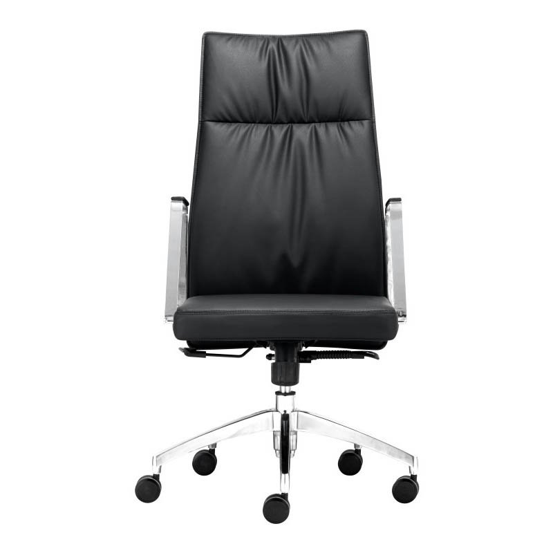Zuo Dean High Back Office Chair in Black
