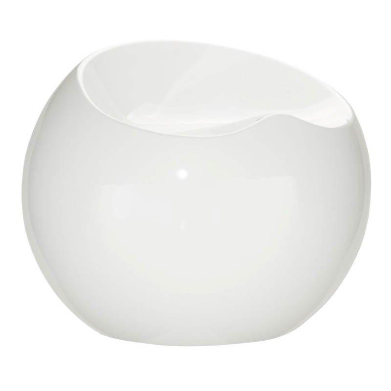 Zuo Drop Stool in White