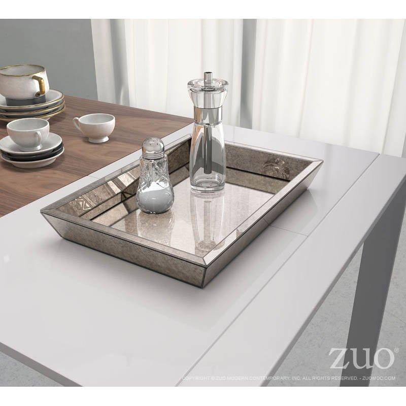 Zuo Elvira Tray with Mirror Effect