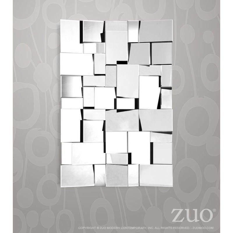 Zuo Fractal Mirror in Clear