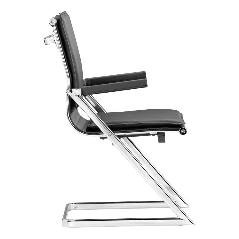 Zuo Lider Plus Conference Guest Chair in Black