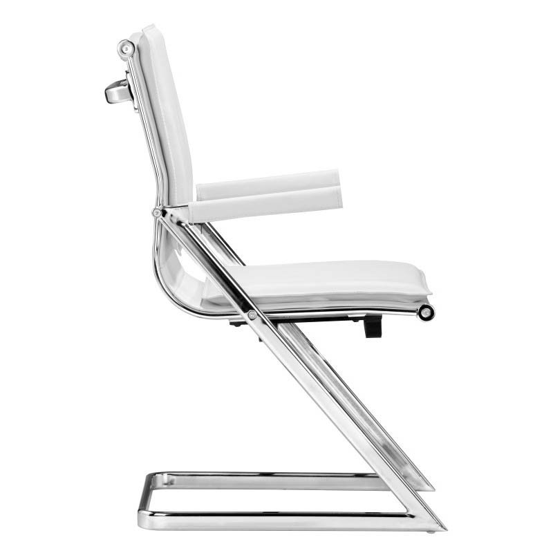 Zuo Lider Plus Conference Guest Chair in White