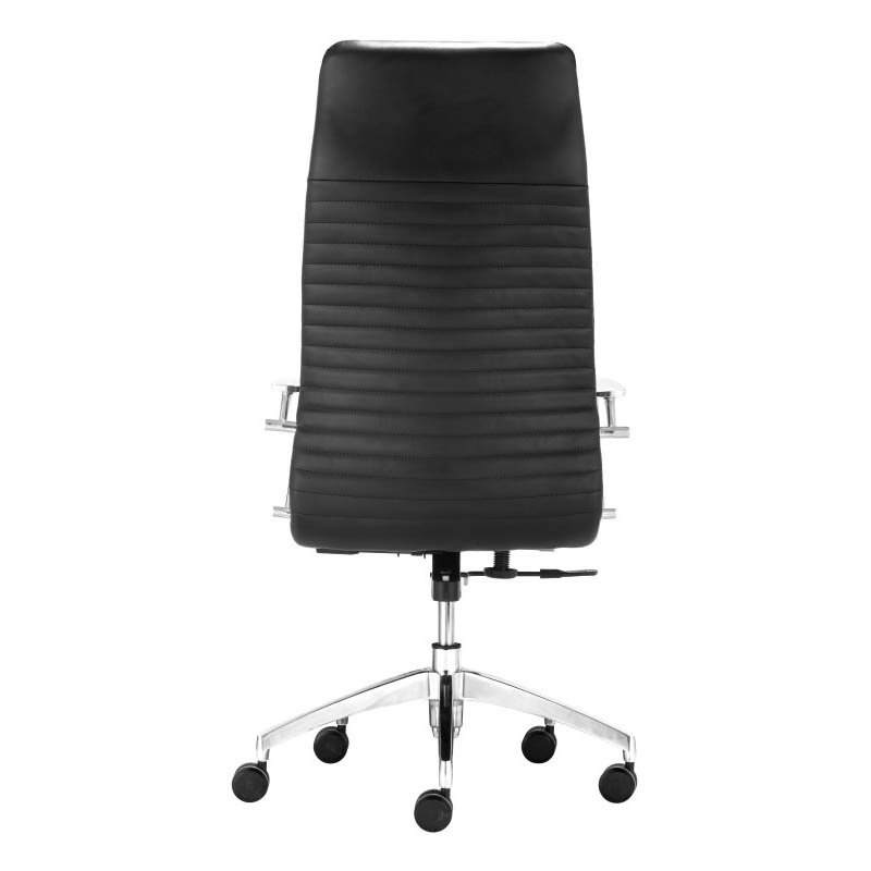 Zuo Lion High Back Office Chair in Black