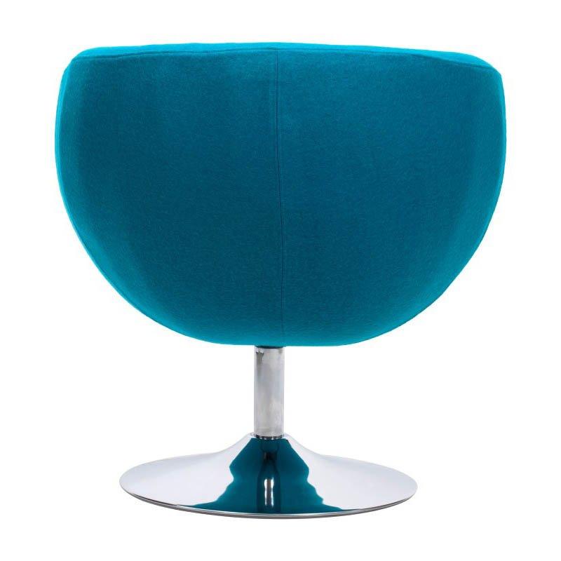 Zuo Lund Armchair in Island Blue