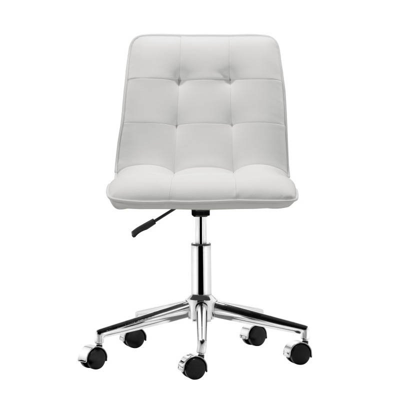 Zuo Scout Office Chair in White