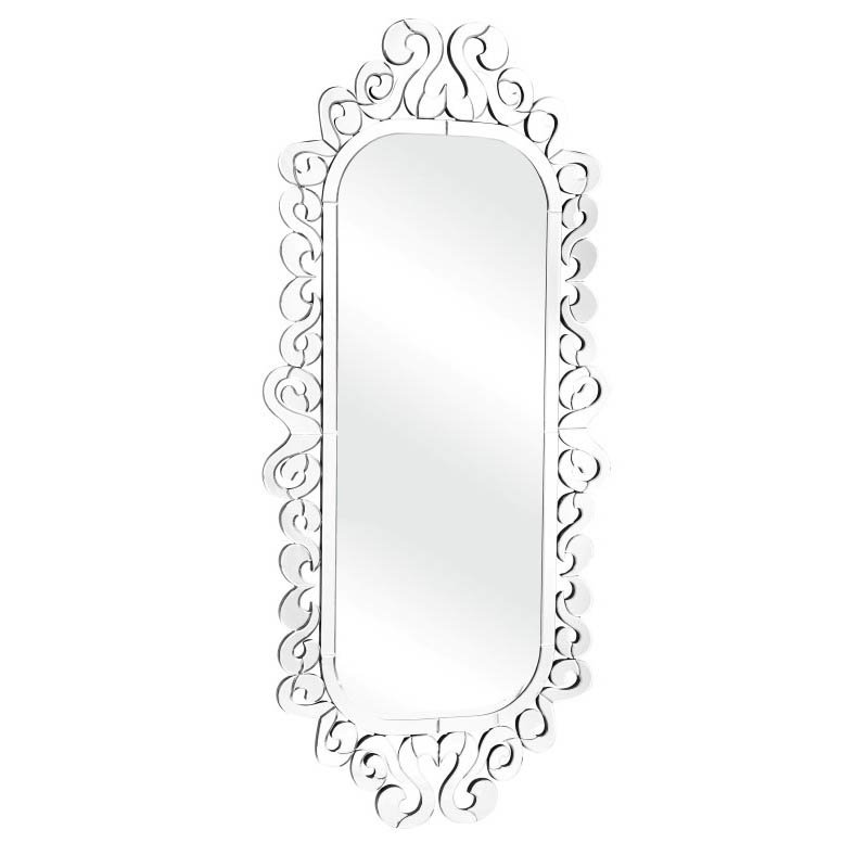 Zuo Shiva Mirror in Clear