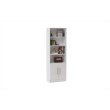 Accentuations by Manhattan Comfort Practical Catarina Cabinet with 6-Shelves in White