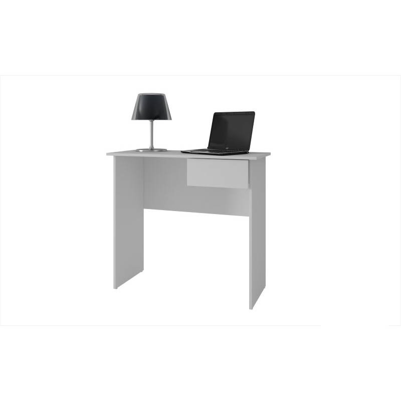 Accentuations by Manhattan Comfort Simple Cosenza Work Desk with 1-Drawer in White