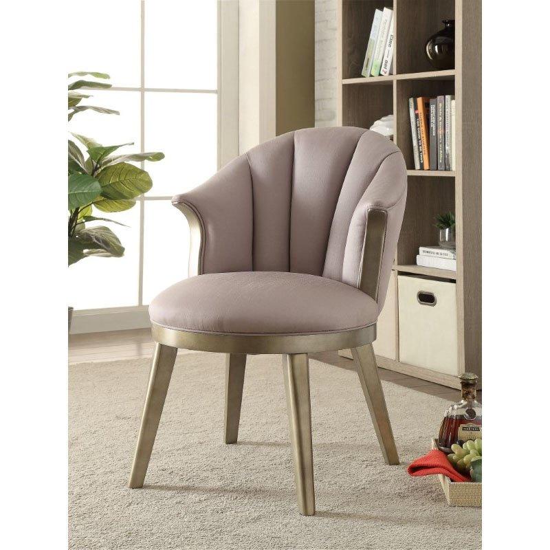 Acme Furniture Brecken Accent Chair In Light Lavender