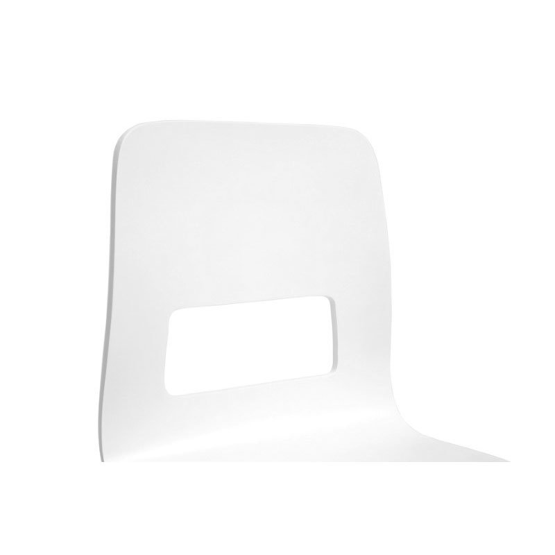 Baxton Studio Greta White Modern Dining Chair (Set of 2)