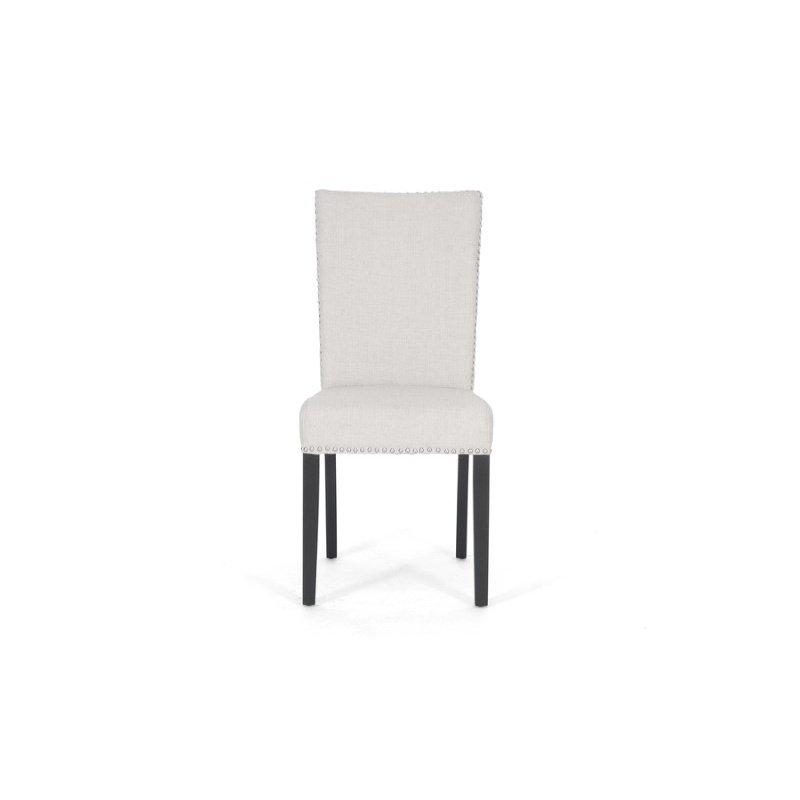 Baxton Studio Harrowgate Beige Linen Modern Dining Chair (Set of 2)