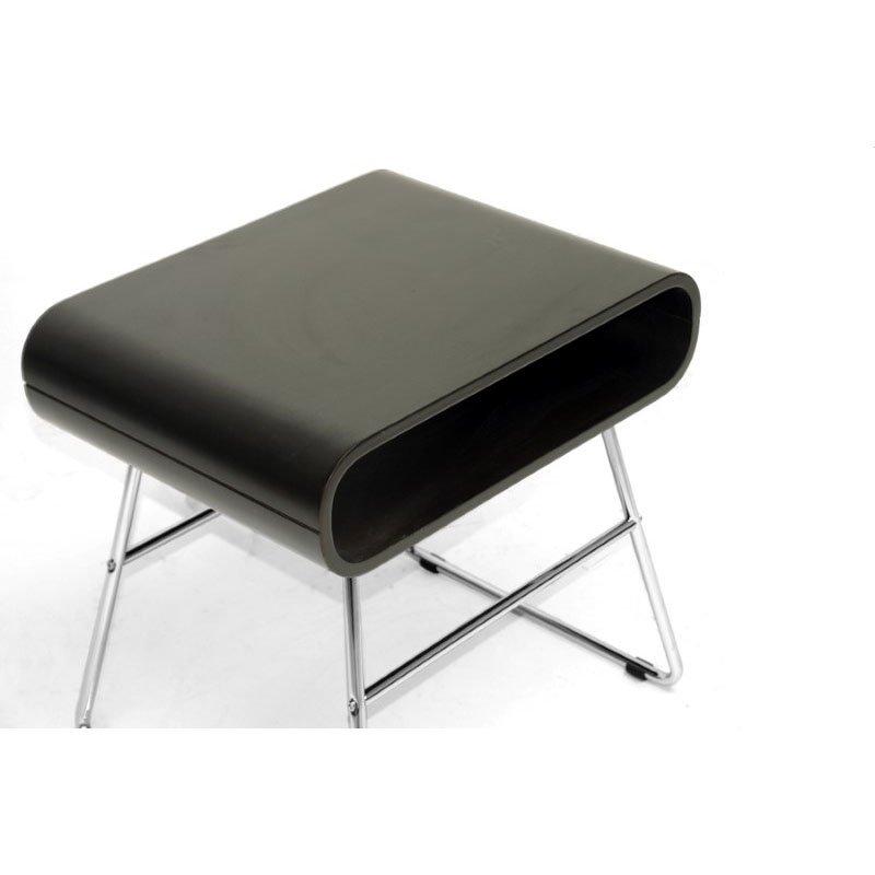 Baxton Studio Ramsey Dark Brown MidinCentury Modern End Table