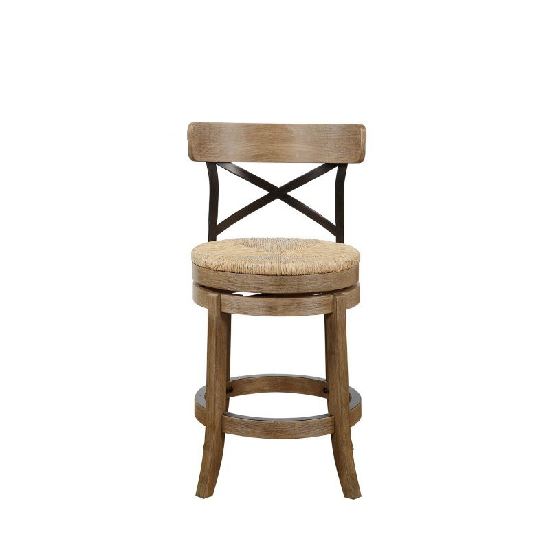 "Boraam 24"" Myrtle Counter Stool in Wire-Brush"