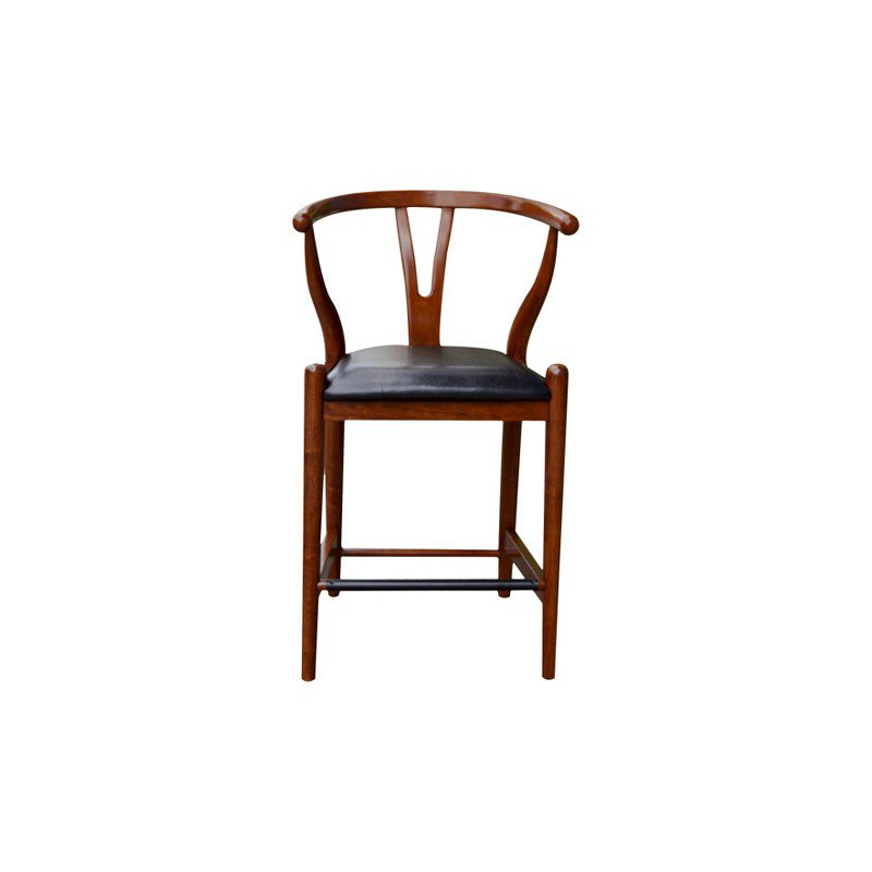 Boraam 24 Quot Wishbone Counter Stool In Cherry