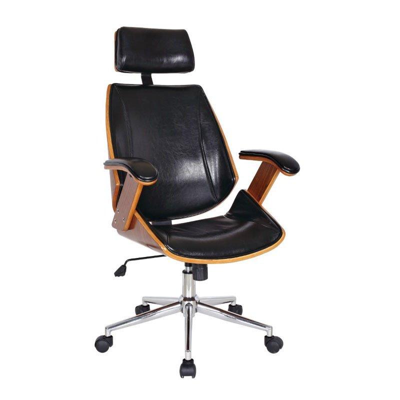 Boraam Lucas Desk Chair in Black