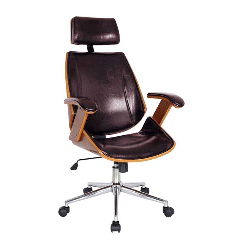 Boraam Lucas Desk Chair in Brown