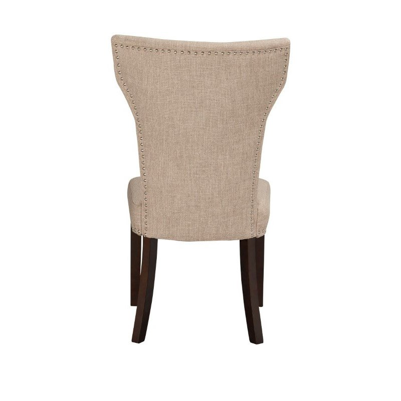 Boraam Monaco Parson Dining Chair in Oatmeal (Set of 2)
