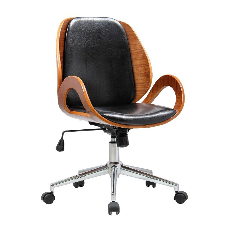 Boraam Riko Desk Chair in Black