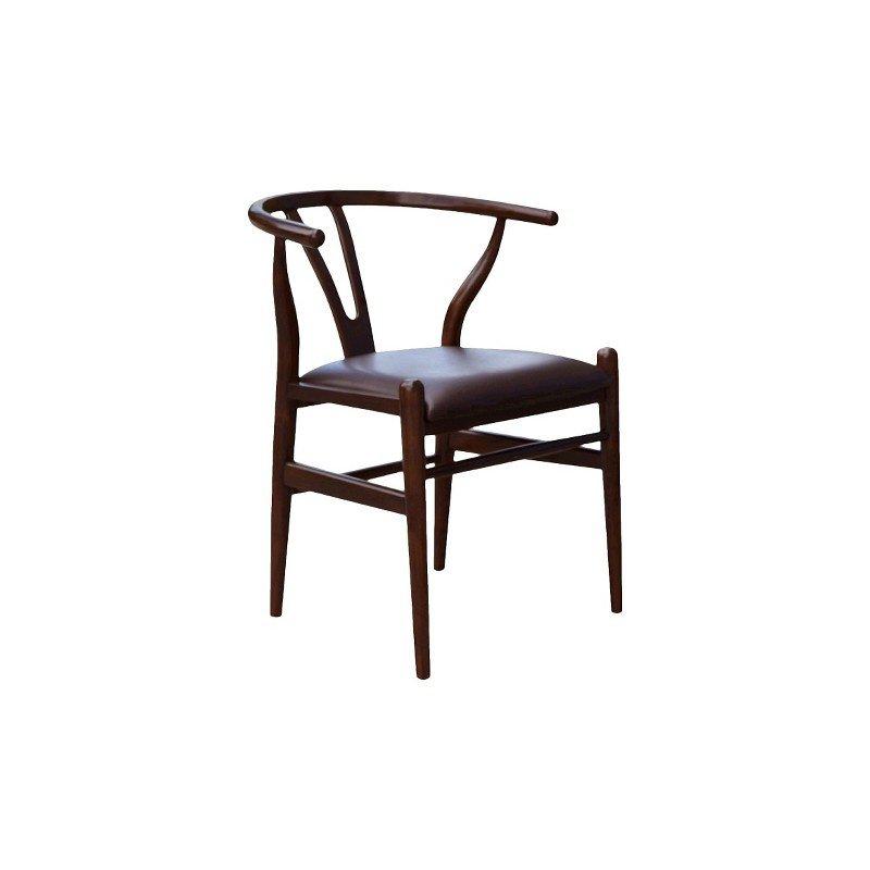 Boraam Wishbone Dining Chair in Cappuccino
