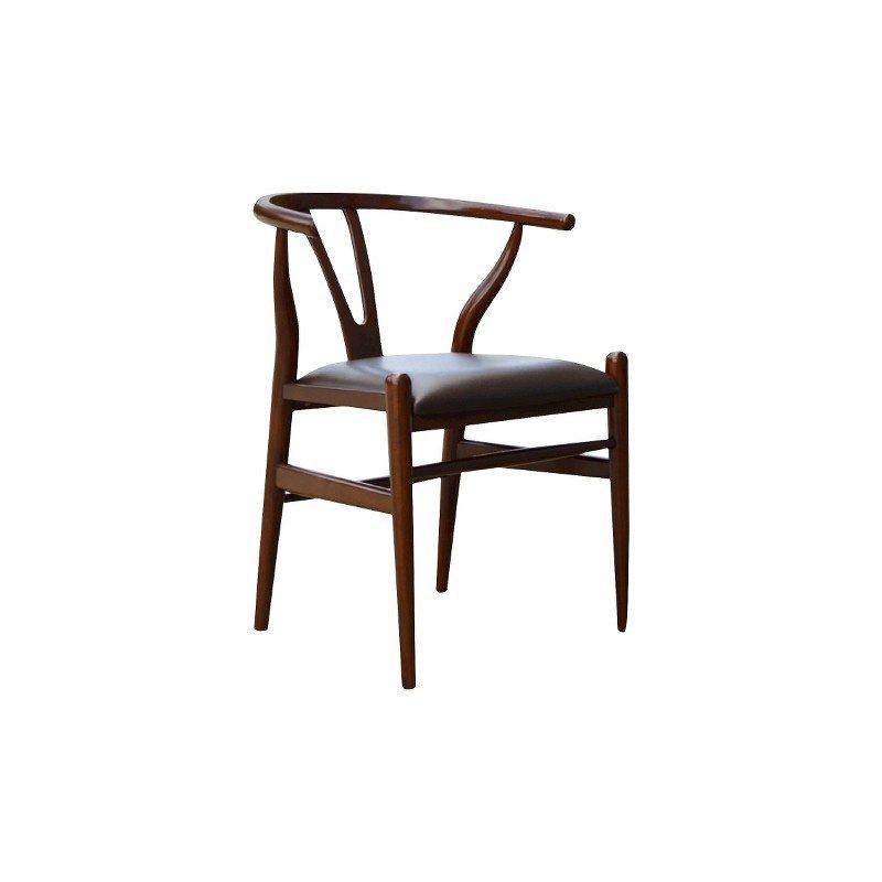 Boraam Wishbone Dining Chair in Walnut