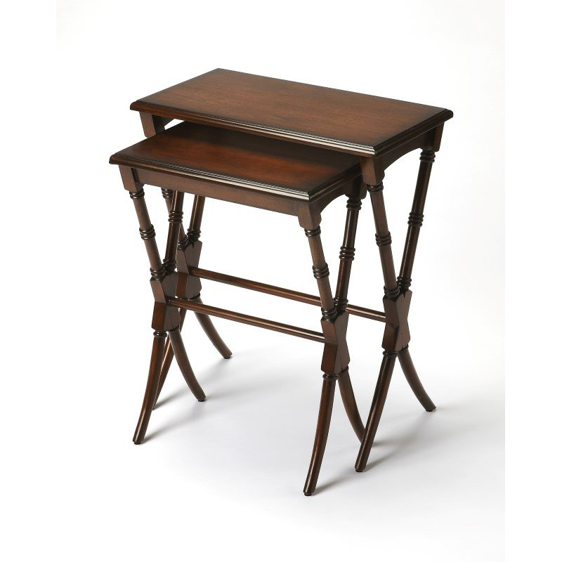 Butler Specialty Arabella Antique Cherry Nesting Tables - Arabella coffee table