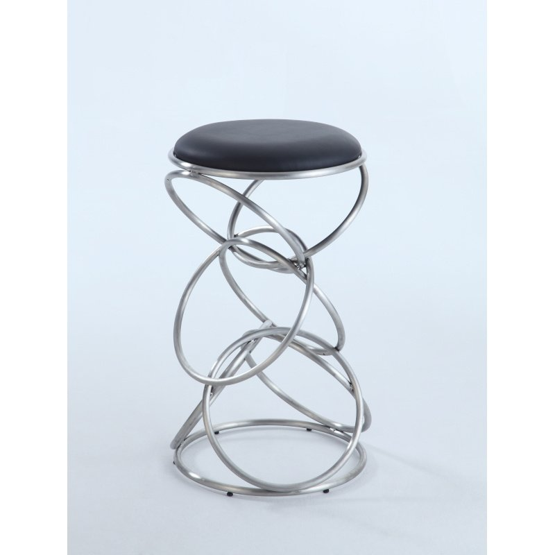 Chintaly Imports 0545 Interlocking Multi Ring Bar Stool In