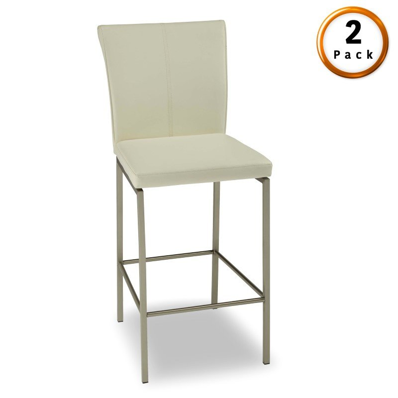 Fashion Bed Group Cheyenne Metal Counter Stool With Glacier Finished