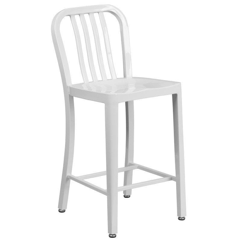 Nice Flash Furniture CH 61200 30 034 High White