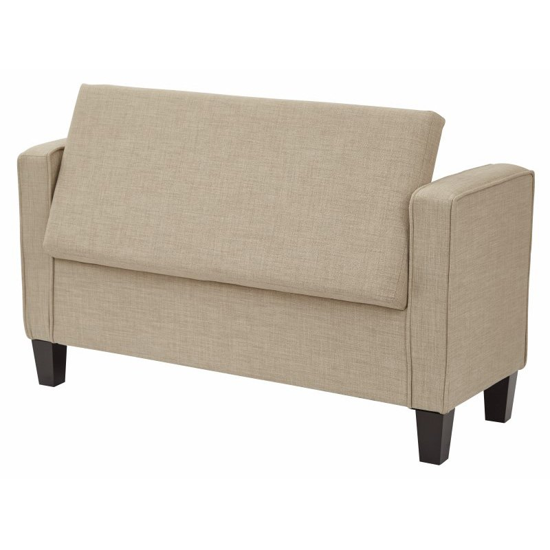 Bassett Furniture Milford Ct: INSPIRED By Bassett Cordoba Storage Bench With Pillows In