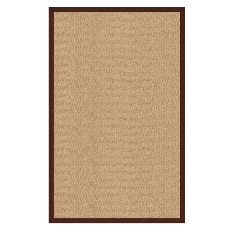 Linon Athena At0206 Rug 1 10 Quot X 2 10 Quot Sisal And Brown
