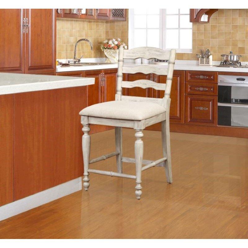 Linon Lattice Vanity Set Multiple Colors: Linon Marino Counter Stool