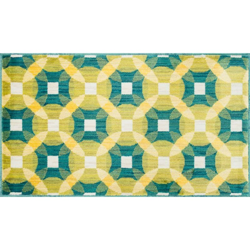 Loloi Isabelle IS-09 Rug 3' Teal Round