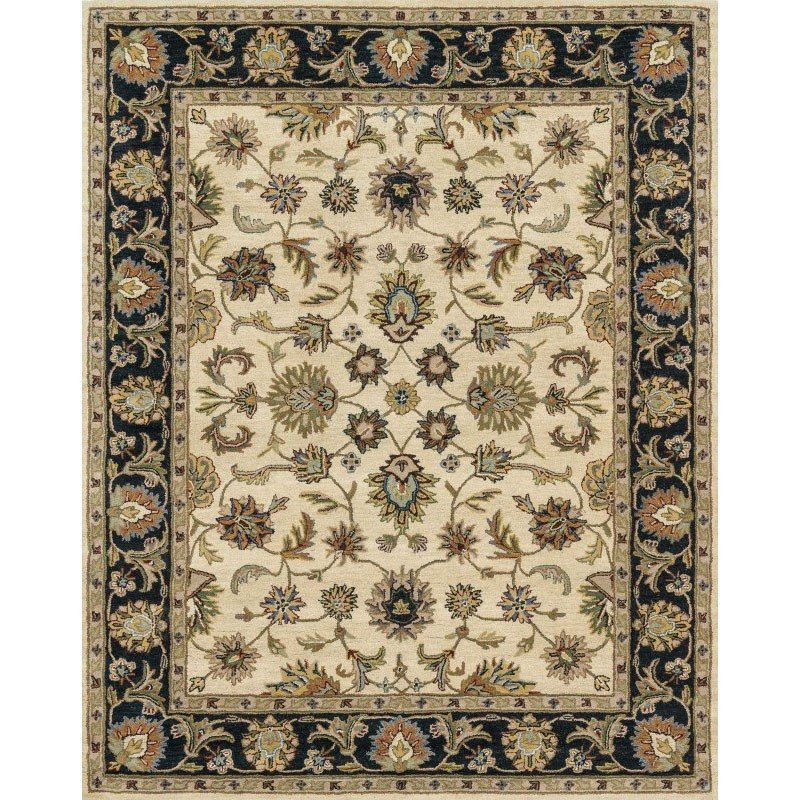 Loloi Maple Mp 04 Rug 5 X 7 6 Quot Beige And Black Rectangle