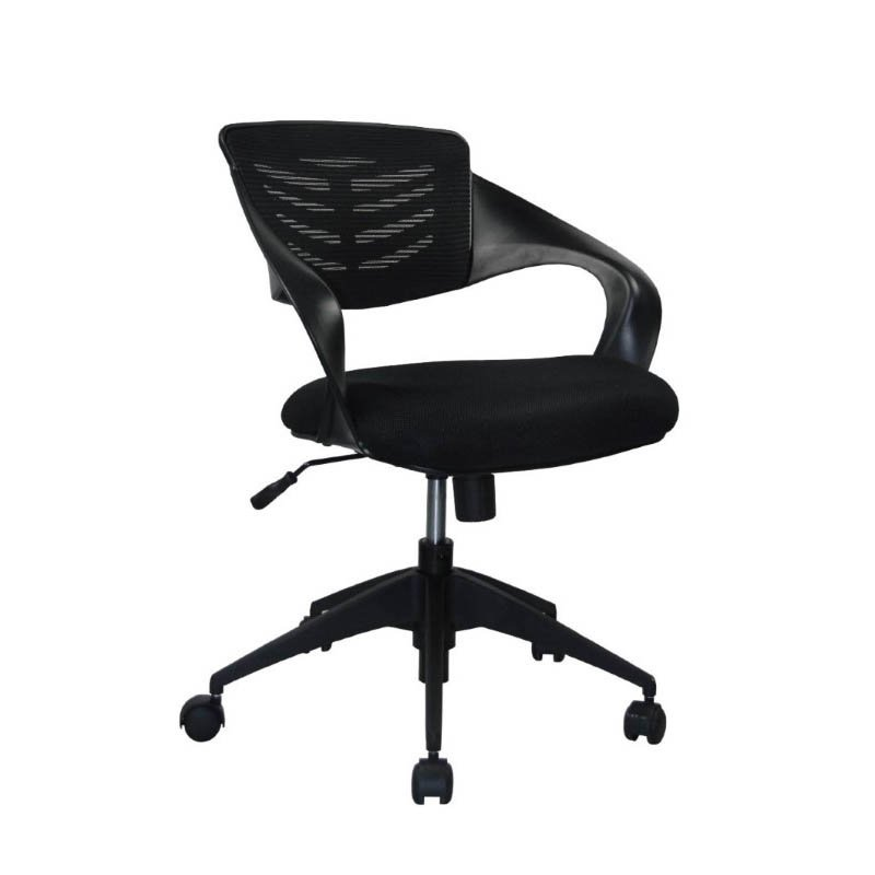 Manhattan Comfort Grove Mid Back Office Chair In Black