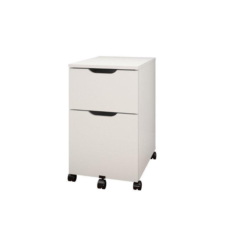 Nexera 2 Door Mobile Microwave Cart: Nexera Arobas Mobile Filing Cabinet In White And Melamine