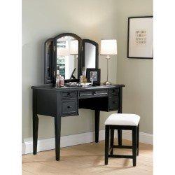 Linon Lattice Vanity Set