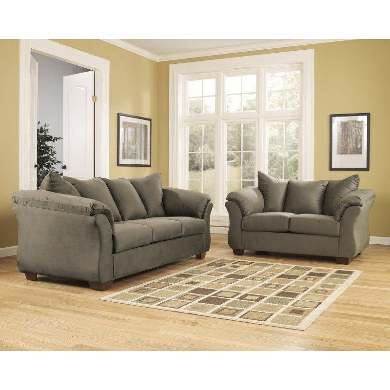 Ashley Furniture Darcy Sage Chair: Signature Design By Ashley Darcy Sofa In Sage Fabric