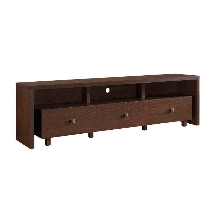 Techni mobili elegant tv stand for tv 39 s up to 75 with for Center mobili outlet